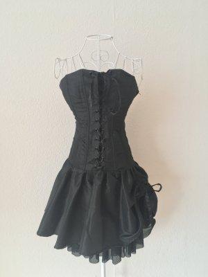 Vestido corsage negro