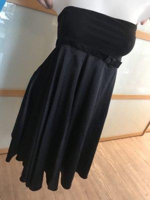 Bandeau Festliches Kleid Damen H&M Kleid mit Schleife in Größe 38