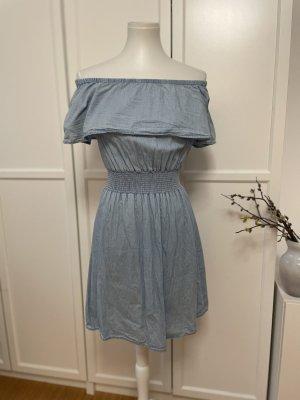 Colloseum Sukienka z dekoltem typu bandeau Wielokolorowy