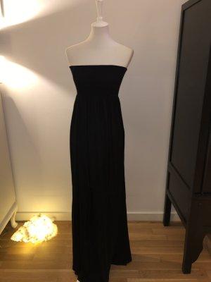H&M Divided Sukienka z dekoltem typu bandeau czarny