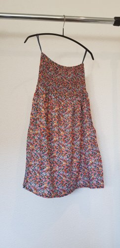 Bandeau-Kleid mit Blümchen