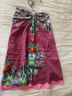 Bandeau Kleid mit Neckholderband