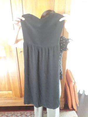 Bandeau-Kleid mit Unterrock