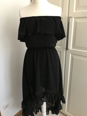 H&M Divided Robe bas asymétrique noir