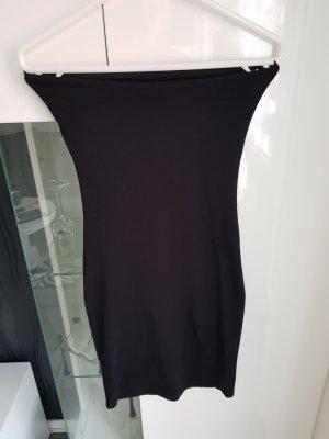 Bandeau Kleid schwarz Größe XS von Pieces