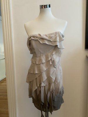 Bandeau-Kleid von Karen Millen in beige/grau 36