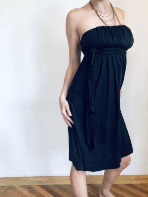 Sisley Robe bandeau noir