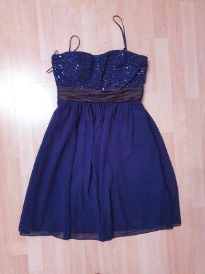 Bandeau Midi-Kleid mit Pailletten und schönen Details