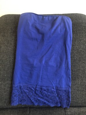 Bandeau top blau Only Gr. M