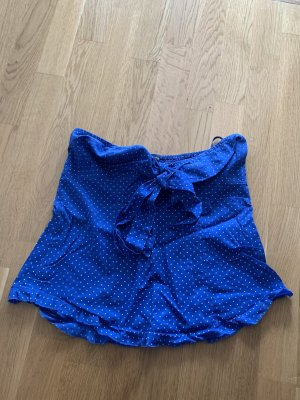 Moda International Bandeau Top blue-white