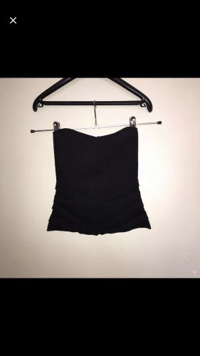 Zara Bandeau top zwart