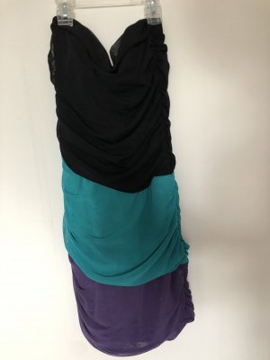 Nelly Bandeau Dress multicolored