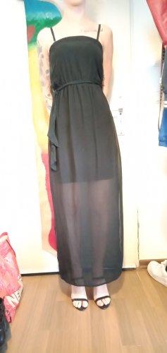 Even & Odd Sukienka z dekoltem typu bandeau czarny