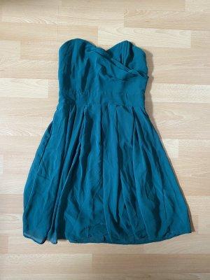 TFNC Bandeau Dress dark green