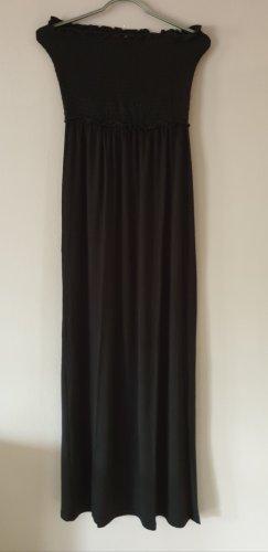 Even & Odd Robe bandeau noir viscose