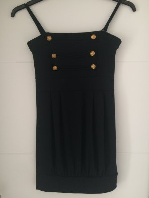 Melrose Bandeau Dress black polyester