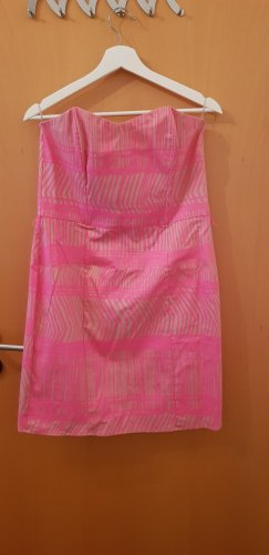 H&M Bandeaujurk beige-roze
