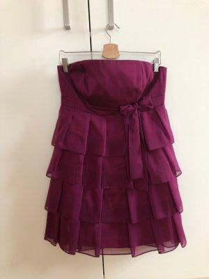 Bandeau Dress purple