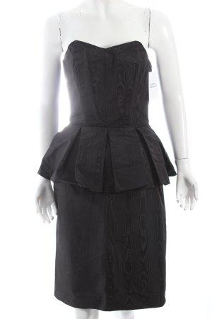 Bandeaukleid schwarz Elegant