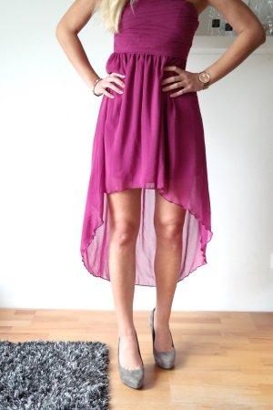 Vila Bandeau Dress magenta-purple