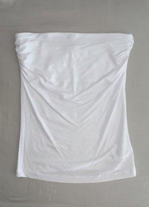 Jennyfer Bandeau Top white