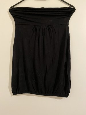 one love Top bandeau negro
