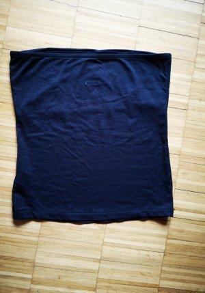 Zara Top a fascia nero