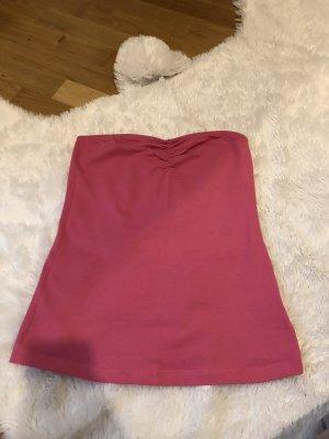 Bandeautop rosa pink Oberteil Top Größe 34 36 XS S Esmara