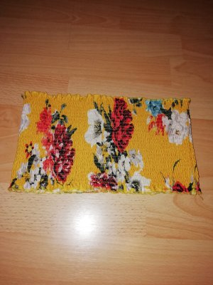 Gina Tricot Top bandeau amarillo