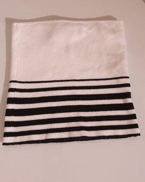 Pull & Bear Top a fascia bianco-nero