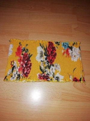 Gina Tricot Haut bandeau jaune