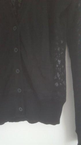 Bandolera Knitted Jumper black