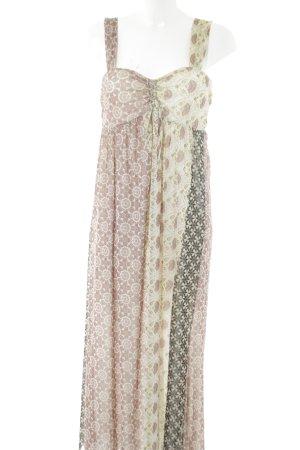 Bandolera A Line Dress allover print casual look