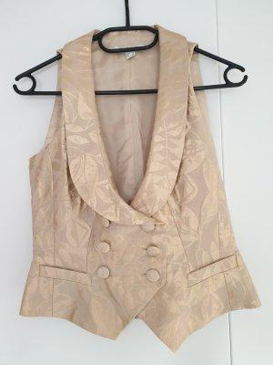 Bandolera Waistcoat gold-colored