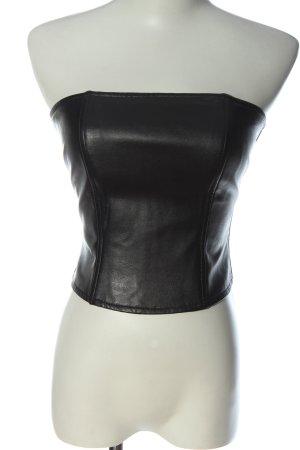 Bandolera Haut type corsage noir style décontracté