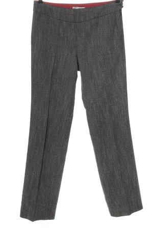 Bandolera High Waist Trousers light grey flecked casual look