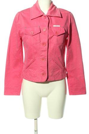 Bandolera Klassischer Blazer pink Casual-Look