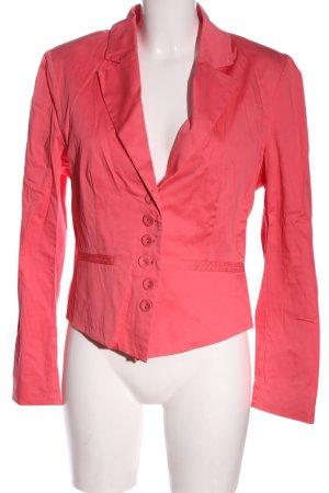 Bandolera Korte blazer roze casual uitstraling