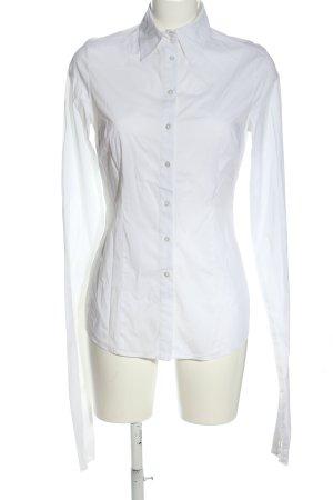 Bandolera Long Sleeve Shirt white business style