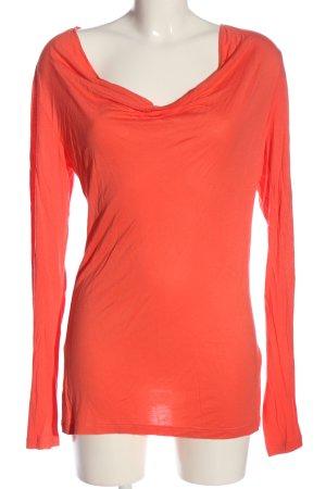Bandolera Longsleeve red casual look
