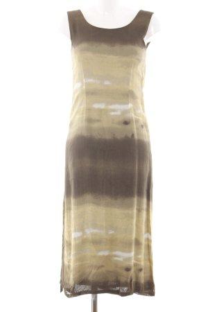 Bandolera Midikleid bronzefarben-goldfarben Allover-Druck Casual-Look