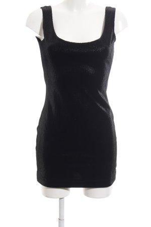 Bandolera Mini Dress black glittery
