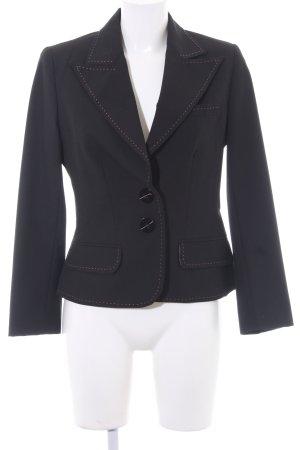 Bandolera Tuxedo Blazer black business style