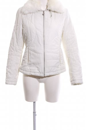 Bandolera Quilted Jacket white quilting pattern casual look