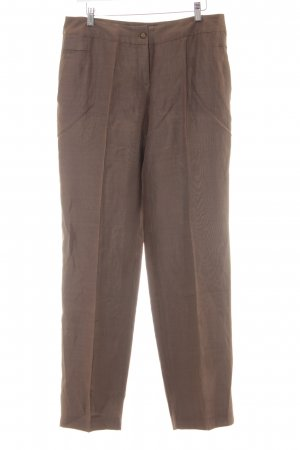 Bandolera Pantalon en jersey marron clair style d'affaires
