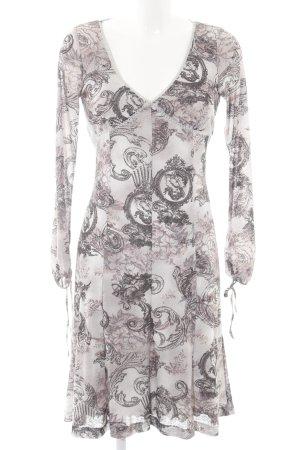 Bandolera Stretch Dress abstract pattern casual look