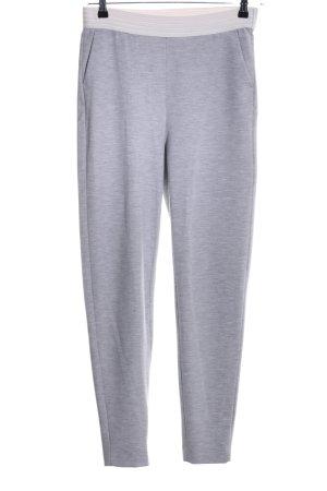 Bandolera Sweat Pants light grey flecked casual look