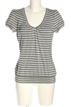 Bandolera T-Shirt hellgrau meliert Casual-Look