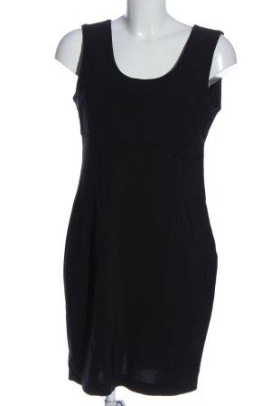 Bandolera Pinafore dress black business style