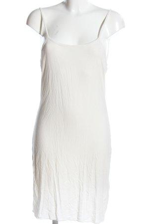 Bandolera Pinafore dress white casual look